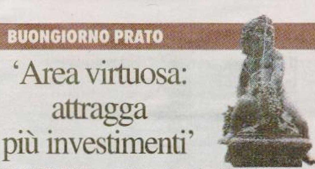 21 febbraio 2009 – La Nazione – Area Virtuosa Attragga più Investimenti