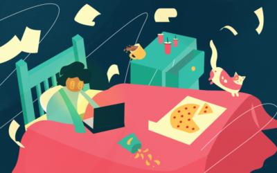 Il lavoro da casa è davvero smart?